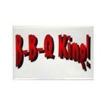B-B-Q King Rectangle Magnet (100 pack)