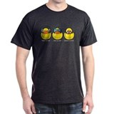 No Evil Ducks Black T-Shirt