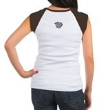 Women's Cap Sleeve boog t-shirt