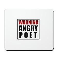Angry Poet Mousepad