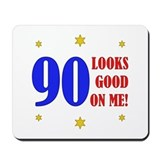 Fun 90th Birthday Mousepad