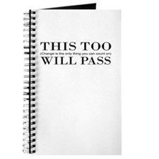 This Too Will Pass Journal