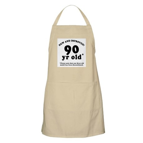90th Birthday Gag Gifts Apron