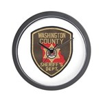 Washington County Sheriff Wall Clock