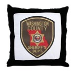 Washington County Sheriff Throw Pillow