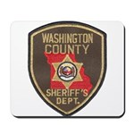 Washington County Sheriff Mousepad