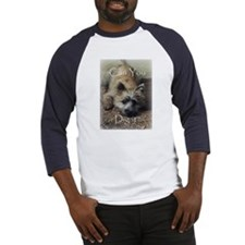 Cairn Terrier Dig It! Baseball Jersey