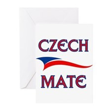 CZECH MATE Greeting Cards (Pk of 20)