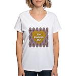 You Bedazzle Me Women's V-Neck T-Shirt