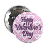 "Happy Valentine's 2.25"" Button (100 pack)"