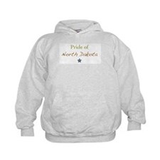 """Pride of North Dakota"" Hoodie"