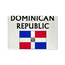 Cute Dominican republic Rectangle Magnet (10 pack)