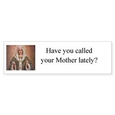 Cute Rosary Bumper Sticker