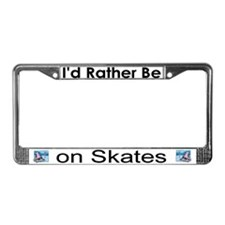 """Figure Skater"" License Plate Frame"