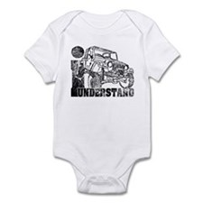 Jeep TJ Wrangler Infant Bodysuit