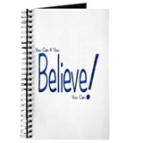 Believe! (blue) Journal
