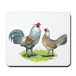 Ameraucana Chicken Pair Mousepad