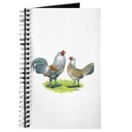 Ameraucana Chicken Pair Journal