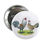 "Ameraucana Chicken Pair 2.25"" Button (100 pac"