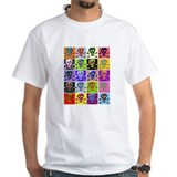 Colorful Abstract Skulls T-Shirt