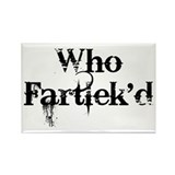 Who Fartlek'd? Rectangle Magnet (10 pack)