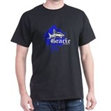 Gracie Jiu-Jitsu 4 BLK T-Shirt