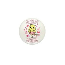 DANCE CHICK Mini Button (100 pack)
