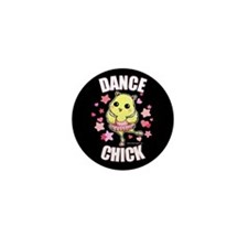 DANCE CHICK Mini Button