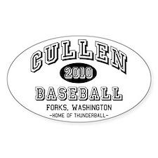 Cullen Baseball 2010 Oval Sticker