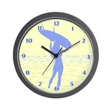 Surfer Wall Clock