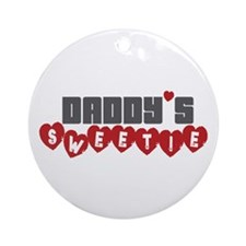 Daddy's Sweetie Ornament (Round)
