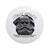 Karl Marx 03 Ornament (Round)