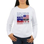 My Donation Women's Long Sleeve T-Shirt
