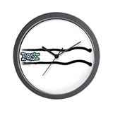 Lay Scratch Posi Wall Clock