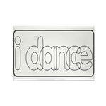 I Dance Rectangle Magnet (10 pack)
