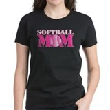 Softball Mom pink  T