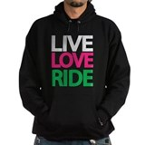 Live Love Ride Cowgirl Hoody