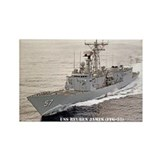 USS REUBEN JAMES Rectangle Magnet (100 pack)