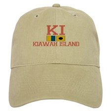 Kiawah Island SC - Nautical Design Baseball Cap