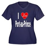 I Love Port-au-Prince Haiti (Front) Women's Plus S