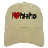 I Love Port-au-Prince Haiti Baseball Cap