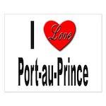 I Love Port-au-Prince Haiti Small Poster
