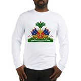 Haiti Coat of Arms Long Sleeve T-Shirt