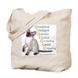 Cute Siamese Tote Bag