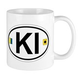 Kiawah Island SC - Oval Design Coffee Mug
