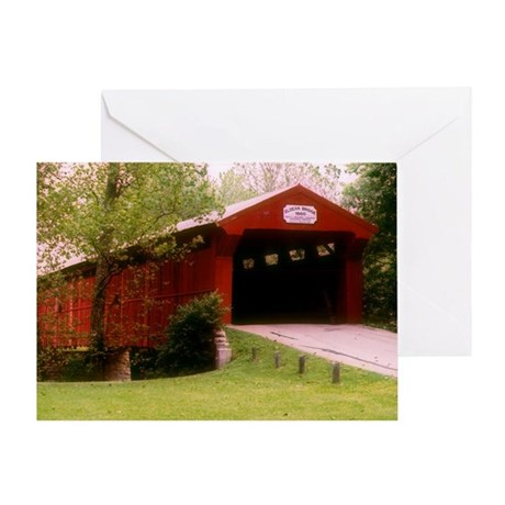 Eldean Covered Bridge Greeting Card