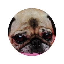 "Pug 3.5"" Button"