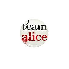 Team Alice Mini Button