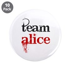 "Team Alice 3.5"" Button (10 pack)"