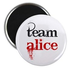 "Team Alice 2.25"" Magnet (10 pack)"